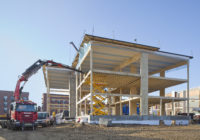 Fast Construction with Prefabricated Wood Elements
